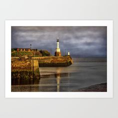 Collect your choice of gallery quality Giclée, or fine art prints custom trimmed by hand in a variety of sizes with a white border for framing. Cumbria, Early Morning, Fine Art Prints, Coast, Gallery, Painting, Image, Roof Rack, Painting Art