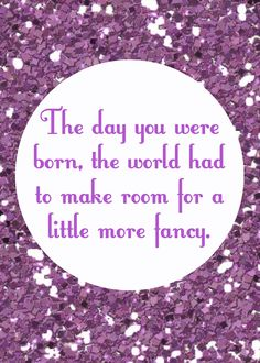 The day you were born, the world had to make room for a little more fancy. #KooreyCreations www.kooreycreations.com