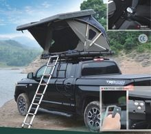 [Outdoor Sports] Best automatic suv hard shell roof top tent for camping Pickup Camping, Truck Bed Camping, Travel Trailer Camping, Diy Camping, Tent Camping, Camping Hacks, Roof Rack Tent, Diy Roof Top Tent, Top Tents