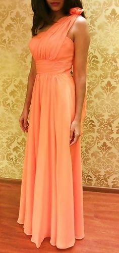 We've been getting loads of orders and queries for bachelorette parties and bridesmaid gowns. So if you have a similar occasion coming up...you know where to head to!! This ultra soothing coral gown is a customized piece for one of our patrons but we do have a gorgeous teal-blue color in store.