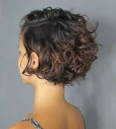Very stylish curly hair styles for 2020 (short & long hair cuts) Curly Pixie Haircuts, Bob Haircut Curly, Short Curly Hairstyles For Women, Curly Hair Styles, Thin Curly Hair, Short Wavy Hair, Long Hair Cuts, Medium Hair Styles, Short Curly Cuts