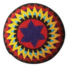 Free Crochet Pattern Star of David Kippah - Crocheting Patterns