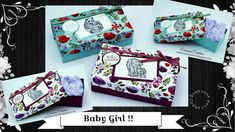 Atelier-Tuto { Boite } Baby Girl par Évasions Créatives Stampin Up, Gift Wrapping, Make It Yourself, Scrapbooking, Blog, Album, Atelier, Advent Calendar, Wrapping