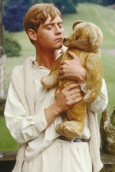 Sebastian Flyte from Brideshead Revisited and his Teddy, Aloysius.