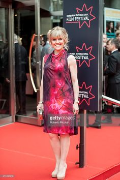 Actress Ashley Jensen attends the Opening Night Gala and World Premiere of 'The Legend of Barney Thomson' at Festival Theatre during the Edinburgh International Film Festival 2015 on June 2015 in. Ashley Jensen, Edinburgh International Film Festival, Agatha Raisin, Style Mode, Opening Night, British Actresses, Fashion Mode, Mode Vintage, Ballet Skirt