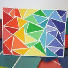 20 Colorful Paint Chip Crafts | Craft Paper Scissors