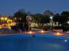 Trulli with swimming pool in Alberobello, Puglia
