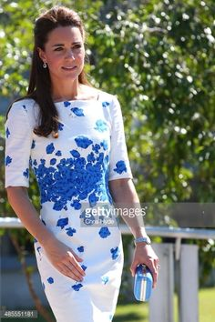 Catherine, Duchess of Cambridge arrives at a function at the Royal Australian Airforce Base at Amberley on April 19, 2014 in Brisbane, Australia. The Duke and Duchess of Cambridge are on a three-week...