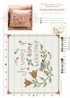 The Snowflower Diaries: Free design - JE VOUS AIME BEAUCOUP:-)