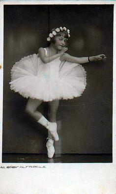 Vintage Postcard ~ Ballet Dancer by chicks57, via Flickr