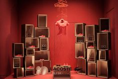 Lacoste 80th anniversary windows at la Rinascente, Milan – Italy