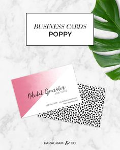 Business Cards: Poppy — Paragram