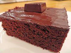 Chefkoch.de Rezept: Der weltbeste Schokoladen - Blechkuchen