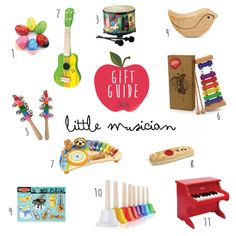 Gift Guide for Little Musicians