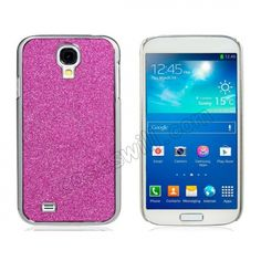 Luxury Bling Glitter Hard Case for Samsung Galaxy S4 SIV I9500 I9505 - Red US$4.29