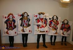 Four of a Kind - Family Halloween Costume Idea