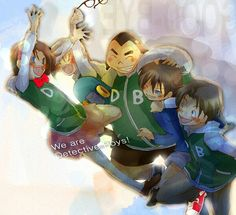 We are detective boys!!(?)