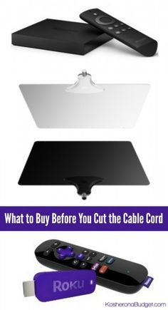 The 2 Things You Need If You're Going to Cut the Cable Cord