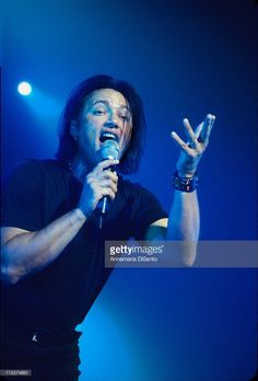 Geoff Tate / vocals of <a gi-track='captionPersonalityLinkClicked' href=/galleries/search?phrase=Queensryche&family=editorial&specificpeople=594896 ng-click='$event.stopPropagation()'>Queensryche</a> during <a gi-track='captionPersonalityLinkClicked' href=/galleries/search?phrase=Queensryche&family=editorial&specificpeople=594896 ng-click='$event.stopPropagation()'>Queensryche</a> Live at Seattle in Seattle, Washington, United States.