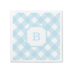 Shop Pink Gingham Checkered Pattern Paper Napkin created by pj_design. Baby Shower Napkins, Party Napkins, Cocktail Napkins, Monogrammed Napkins, Pink Gingham, Ecru Color, Anniversary Parties, Pattern Paper, Prints