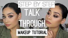 Step by Step Talk Through Makeup Tutorial | Beginners Series