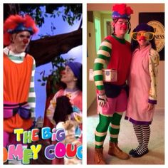 Lunette and Major Bedhead from The Big Comfy Couch tv show! Homemade Halloween costumes & Big Comfy Couch! by RocknamLee.deviantart.com on @deviantART ...