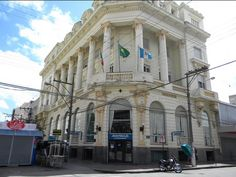 Banrisul - antigo Banco Pelotense - av Marechal Floriano centro de Pelotas