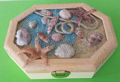 Caja de madera con Sospeso Transparente .