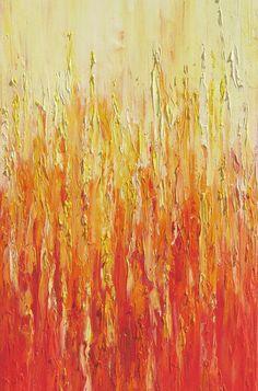 Art representing fire in Feng Shui