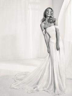 Strapless wedding dress - Rabat