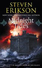 """Read """"Midnight Tides Book Five of The Malazan Book of the Fallen"""" by Steven Erikson available from Rakuten Kobo. After decades of internecine warfare, the tribes of the Tiste Edur have at last united under the Warlock King of the Hir. Tolkien, Iowa, Steven Erikson, Shel Silverstein Books, Fallen Series, Fallen Book, Believe, The Warlocks, Fantasy Books"""