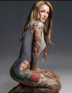 Beautiful Tattooed Girls & Women Daily Pictures. For your Inspiration... #tattoosforgirls