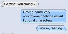 i am in love with a fictional character - Google zoeken
