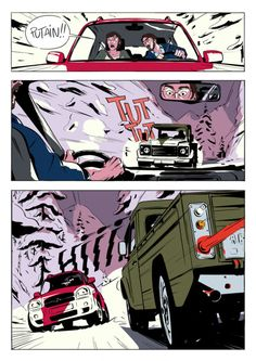 Julien Perron - If you want to check the artist out, here is the. Comics Story, Bd Comics, Manga Comics, Animation Storyboard, Storyboard Artist, Character Illustration, Graphic Illustration, Comic Book Layout, Alternative Comics