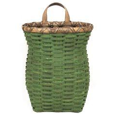 October's Free Basket Weaving Pattern ~ the Candlestick Basket.
