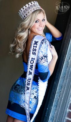Rebecca Hodge Miss Iowa USA 2012