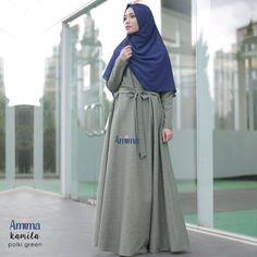 Gamis Amima Kamila Dress Polki Green - baju muslim wanita baju muslimah Untukmu yg cantik syari dan trendy . . Size chart : S (LD 94 cm PB 137 cm) M (LD 100 cm PB 140 cm) L (LD 106 cm PB 140 cm) . . Bahan: Katun Linen HQ (Bahan berserat jatuh agak mengkilap) Resleting depan #busuifriendly Kantong kanan kiri Tali pinggang kanan-kiri . . Ready size S Harga : Rp 225.000 (gamis saja) . . Yuuk pesan sekarang juga hanya di Gamis Hijab Shabby Chic www.facebook.com/gamischic…