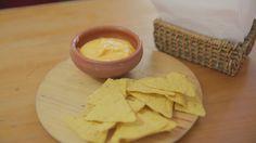 Salsa de queso para nachos