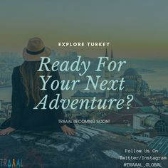 Explore #Turkey: Ready For Your Next Adventure? (^_^) #Traaal can help you.  We are Coming Soon! \m/  #FollowUs and #StayTuned for updates. #travel #startups #business #onlinetravelagency #middleeast #discover #tourists #travellers #photography #vacations #journey #tours #ota #ilovenature #ilovetravelling #nature #life #subscribe #comingsoon