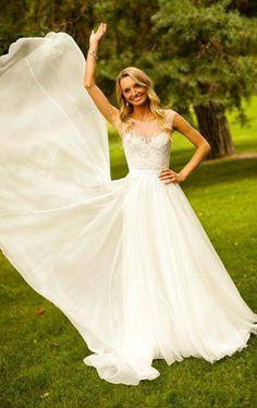 Sleeved wedding dress done right, Paolo Sebastian