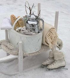 winter decoration ideas for outdoor party