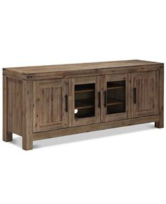 Canyon Media 72 Inch TV Stand, Only at Macy's - TV Stands - Furniture - Macy's $599