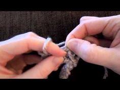 How to: Start a Finger Crochet Chain & Single Stitch Finger Crochet, Finger Knitting, Arm Knitting, Crochet Chain, Crochet Bracelet, Diy Crochet, Crochet Unicorn Blanket, Crochet Baby Beanie, Yarn Projects