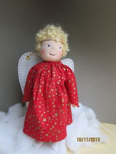 Carita our lovely OOAK Angel doll collectors doll