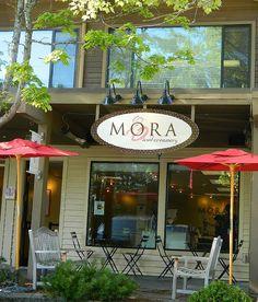 Mora Ice Cream Bainbridge Island WA