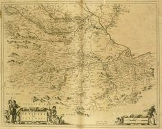 For Sale on - Antique Roxburghshire, Scotland Map, Ink, Paper by Willem Blaeu. Offered by MAPSandART. Old Antiques, French Antiques, Scotland Map, World Map Art, Late 20th Century, Landscape Prints, Painted Paper, American Artists, Architecture Details