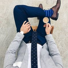 Wake up dress up drink up and show up | By @thefilteredfit  #menwithstyle #menwithclass #mensfashion #mensstyle #mensclothing #menswear #mensfashionpost  #menwithstyle #menwithclass #bespoke #fashionformen #follow #lifestyle #goodlife #fashion #style #clothing #outfit #gentleman #inspiration #styleiswhat #ootd #instalike #instagood #instafashion #suit #suitup #tie #morning #coffee #morningcoffee by truegentlemanstyle