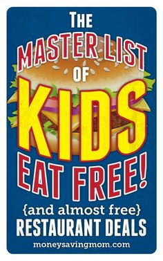 Kids Eat Free at Johnny Carino's this weekend - Money Saving Mom®