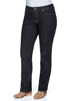 sheego Denim Jeans, »Die Gerade« - dark blue | Damenmode online kaufen