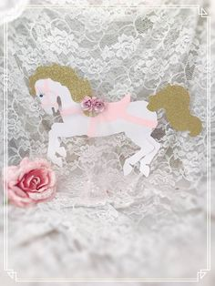 Carousel Horse Backdrop  Carousel Horse Party Wall